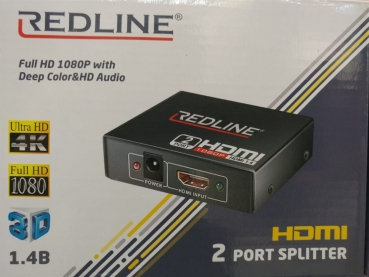 Redline HDMI 2 Port Splitter 1.4V