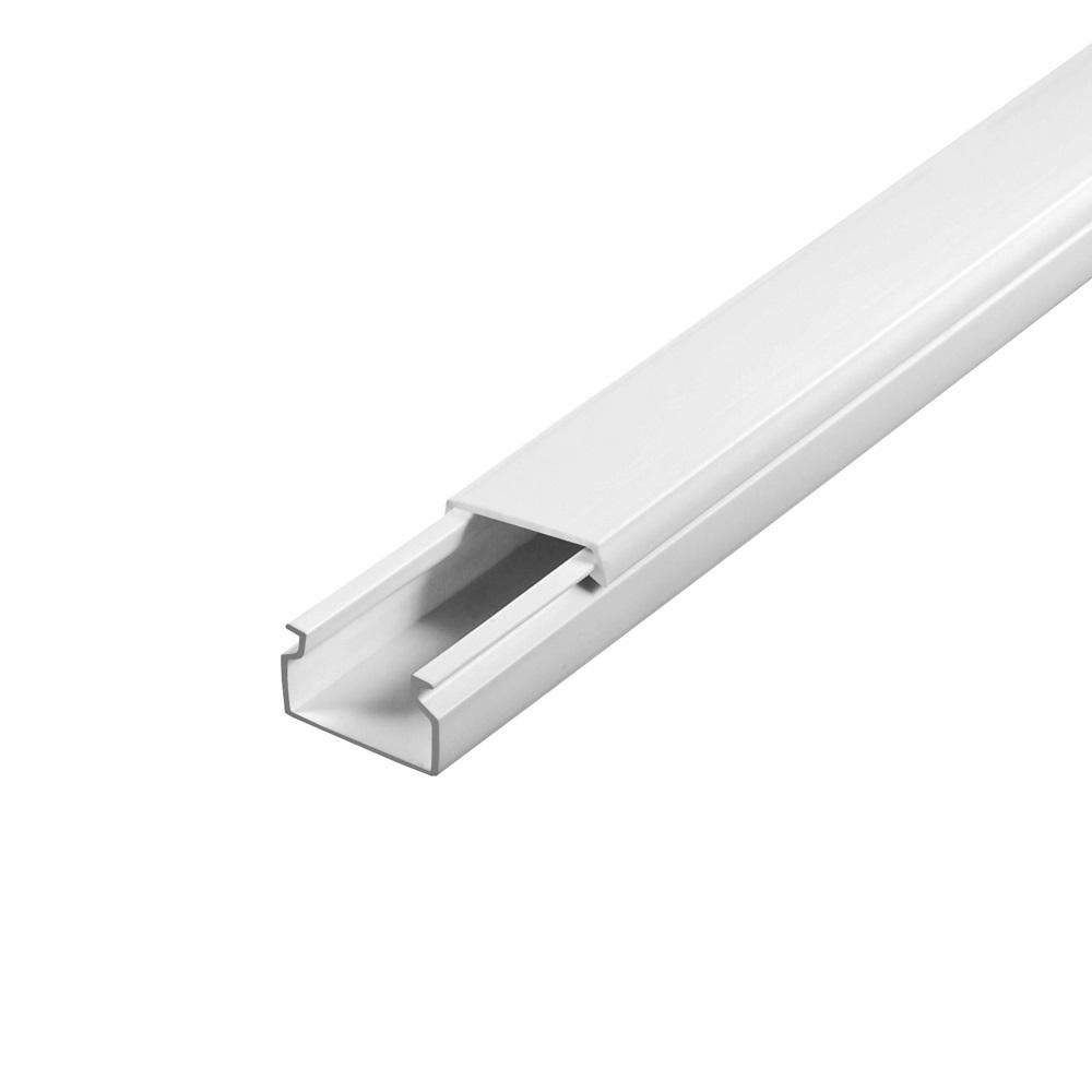 15mm Breit Selbstklebend CILSON Kabelkanal 10mm Hoch Schwarz 5m Lang