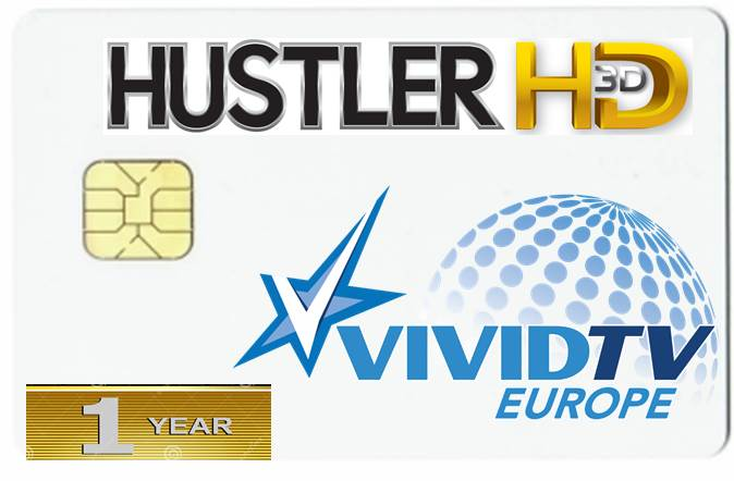 HUSTLER TV UND VIVID TV EUROPE ASTRA 19,2° VIACCESS KARTE